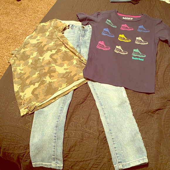 Timberland Other - Jeans and 2 shirts